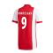 2020-2021 Ajax Adidas Home Football Shirt (HUNTELAAR 9)