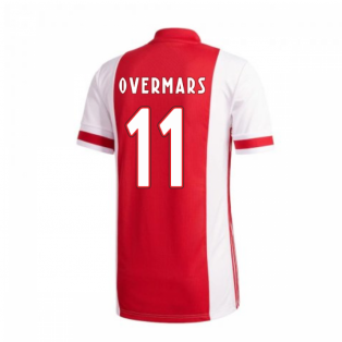 2020-2021 Ajax Adidas Home Football Shirt (OVERMARS 11)