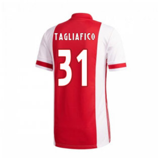 2020-2021 Ajax Adidas Home Shirt (Kids) (TAGLIAFICO 31)