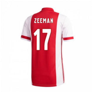 2020-2021 Ajax Adidas Home Shirt (Kids) (Zeeman 17)