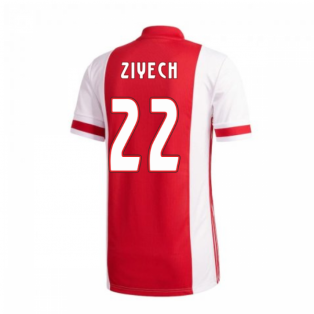 2020-2021 Ajax Adidas Home Shirt (Kids) (ZIYECH 22)