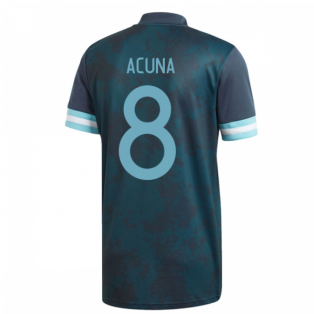 2020-2021 Argentina Away Adidas Football Shirt (Kids) (ACUNA 8)