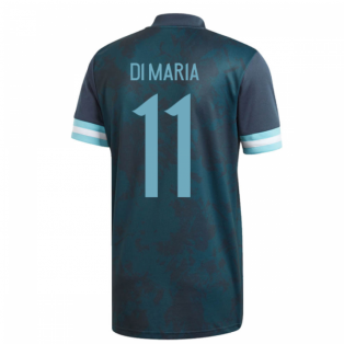2020-2021 Argentina Away Adidas Football Shirt (Kids) (DI MARIA 11)