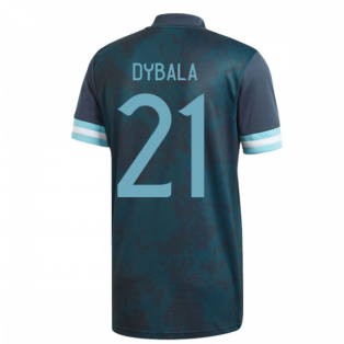 2020-2021 Argentina Away Adidas Football Shirt (Kids) (DYBALA 21)