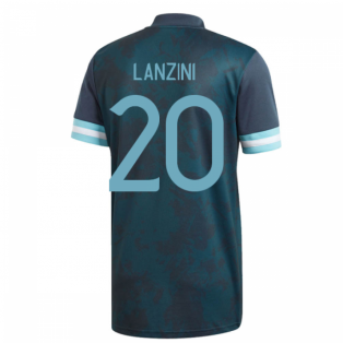2020-2021 Argentina Away Adidas Football Shirt (Kids) (LANZINI 20)