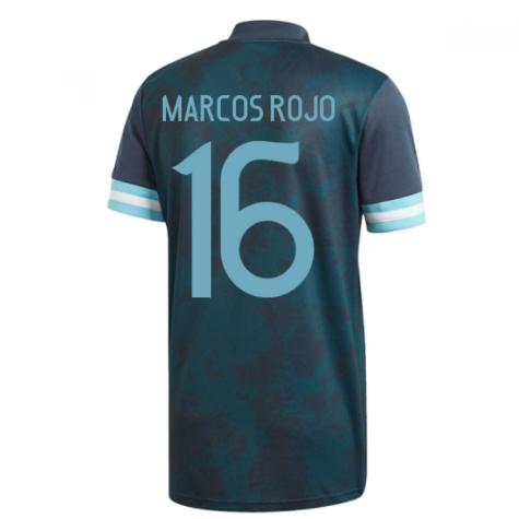2020-2021 Argentina Away Adidas Football Shirt (Kids) (MARCOS ROJO 16)