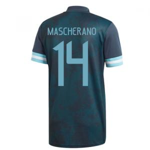 2020-2021 Argentina Away Adidas Football Shirt (Kids) (MASCHERANO 14)