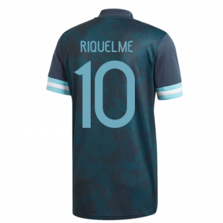 2020-2021 Argentina Away Adidas Football Shirt (Kids) (RIQUELME 10)