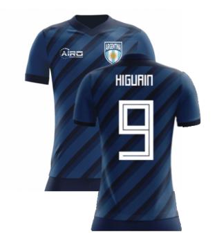 2020-2021 Argentina Concept Shirt (Higuain 9) - Kids