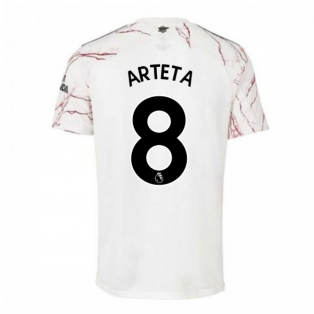 2020-2021 Arsenal Adidas Away Football Shirt (ARTETA 8)