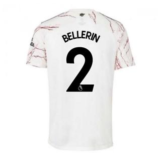2020-2021 Arsenal Adidas Away Football Shirt (BELLERIN 2)