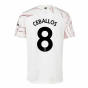 2020-2021 Arsenal Adidas Away Football Shirt (CEBALLOS 8)