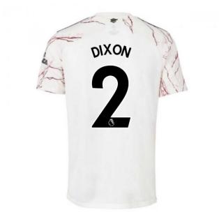 2020-2021 Arsenal Adidas Away Football Shirt (DIXON 2)