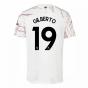 2020-2021 Arsenal Adidas Away Football Shirt (Kids) (GILBERTO 19)