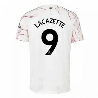2020-2021 Arsenal Adidas Away Football Shirt (Kids) (LACAZETTE 9)