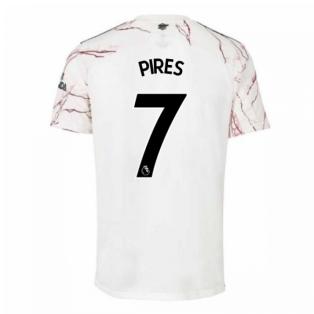2020-2021 Arsenal Adidas Away Football Shirt (Kids) (PIRES 7)
