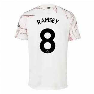 2020-2021 Arsenal Adidas Away Football Shirt (Kids) (RAMSEY 8)
