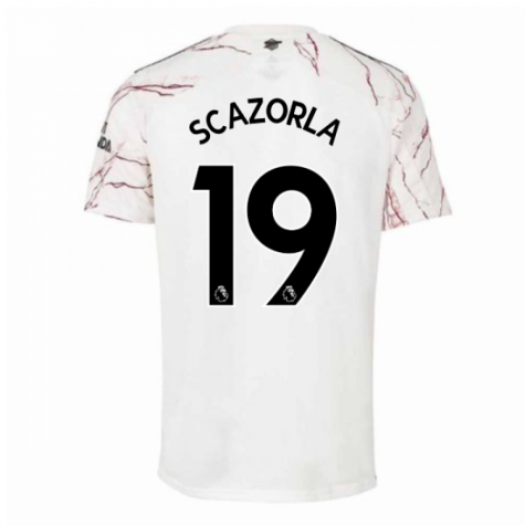 2020-2021 Arsenal Adidas Away Football Shirt (Kids) (S.CAZORLA 19)