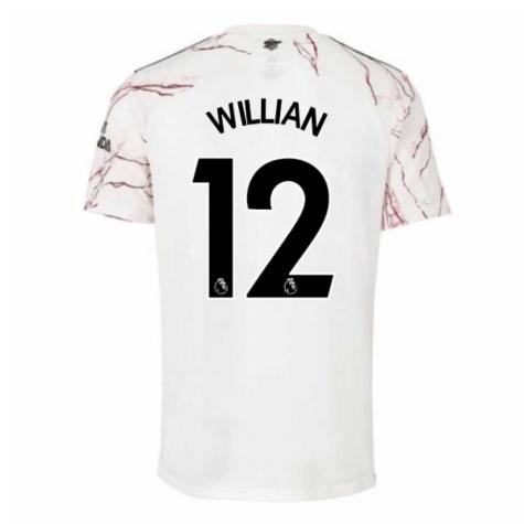 2020-2021 Arsenal Adidas Away Football Shirt (Kids) (WILLIAN 12)