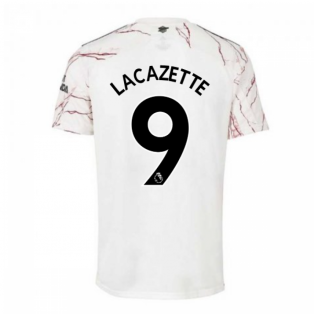 2020-2021 Arsenal Adidas Away Football Shirt (LACAZETTE 9)