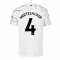 2020-2021 Arsenal Adidas Away Football Shirt (MERTESACKER 4)