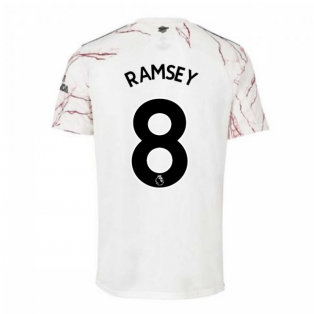 2020-2021 Arsenal Adidas Away Football Shirt (RAMSEY 8)