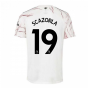 2020-2021 Arsenal Adidas Away Football Shirt (S.CAZORLA 19)