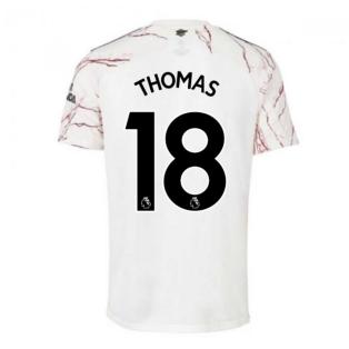 2020-2021 Arsenal Adidas Away Football Shirt (THOMAS 18)