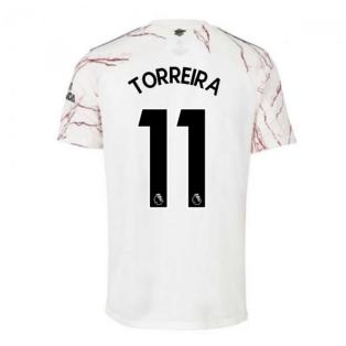 2020-2021 Arsenal Adidas Away Football Shirt (TORREIRA 11)