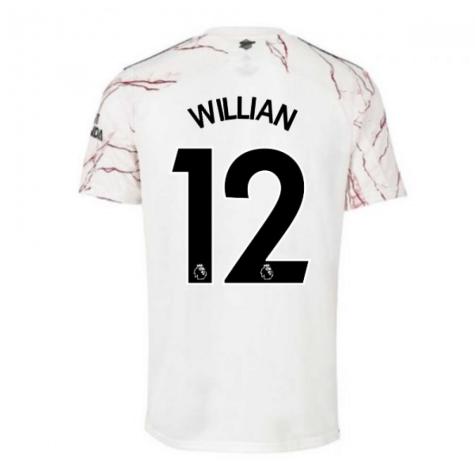 2020-2021 Arsenal Adidas Away Football Shirt (WILLIAN 12)