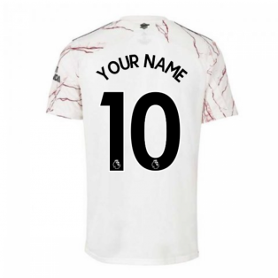 2020-2021 Arsenal Adidas Away Football Shirt (Your Name)