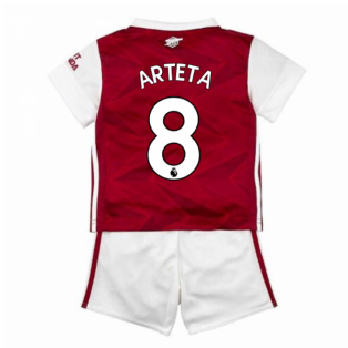 2020-2021 Arsenal Adidas Home Baby Kit (ARTETA 8)