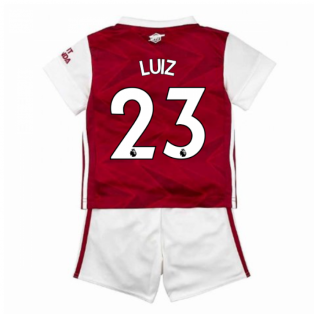 2020-2021 Arsenal Adidas Home Baby Kit (LUIZ 23)
