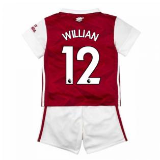 2020-2021 Arsenal Adidas Home Baby Kit (WILLIAN 12)
