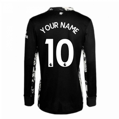 2020-2021 Arsenal Adidas Home Goalkeeper Shirt (Kids) (Your Name)