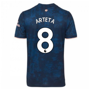 2020-2021 Arsenal Adidas Third Football Shirt (ARTETA 8)