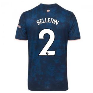 2020-2021 Arsenal Adidas Third Football Shirt (BELLERIN 2)