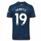 2020-2021 Arsenal Adidas Third Football Shirt (GILBERTO 19)