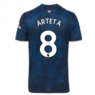 2020-2021 Arsenal Adidas Third Football Shirt (Kids) (ARTETA 8)