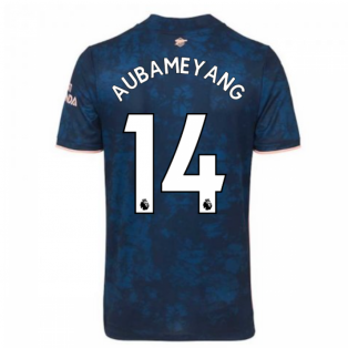 2020-2021 Arsenal Adidas Third Football Shirt (Kids) (AUBAMEYANG 14)