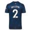 2020-2021 Arsenal Adidas Third Football Shirt (Kids) (BELLERIN 2)