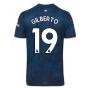 2020-2021 Arsenal Adidas Third Football Shirt (Kids) (GILBERTO 19)