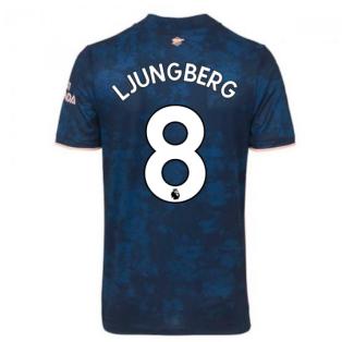 2020-2021 Arsenal Adidas Third Football Shirt (Kids) (LJUNGBERG 8)