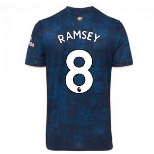 2020-2021 Arsenal Adidas Third Football Shirt (Kids) (RAMSEY 8)