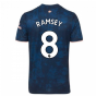 2020-2021 Arsenal Adidas Third Football Shirt (Kids) (RAMSEY 8)