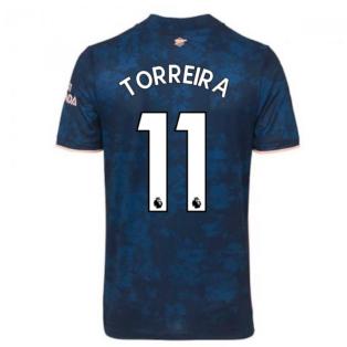 2020-2021 Arsenal Adidas Third Football Shirt (Kids) (TORREIRA 11)