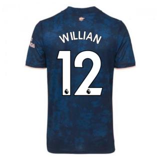 2020-2021 Arsenal Adidas Third Football Shirt (Kids) (WILLIAN 12)