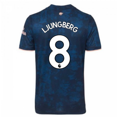 2020-2021 Arsenal Adidas Third Football Shirt (LJUNGBERG 8)