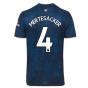 2020-2021 Arsenal Adidas Third Football Shirt (MERTESACKER 4)