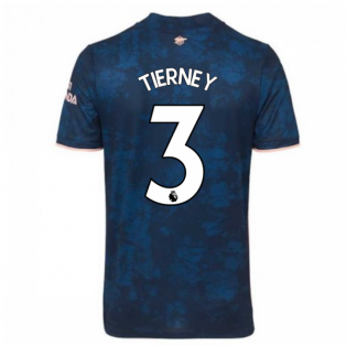 2020-2021 Arsenal Adidas Third Football Shirt (TIERNEY 3)